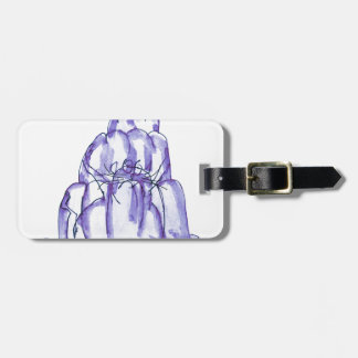 tony fernandes's blackcurrant jelly cat luggage tag