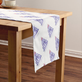 tony fernandes's blackcurrant jelly cat short table runner