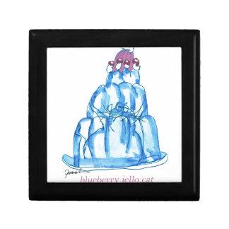 tony fernandes's blueberry jello cat gift box