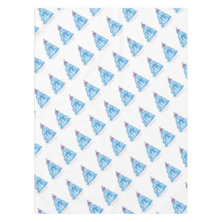 tony fernandes's blueberry jello cat tablecloth