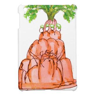 tony fernandes's carrot jello cat iPad mini cover