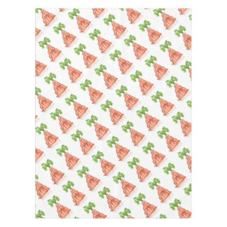 tony fernandes's carrot jello cat tablecloth