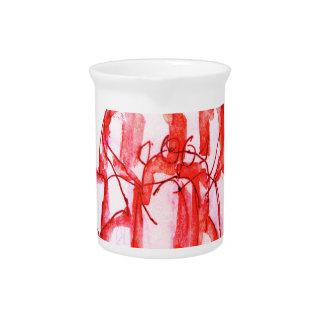 tony fernandes's cherry jello pitcher