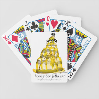 tony fernandes's honey bee jello bicycle playing cards