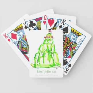 tony fernandes's kiwi jello bicycle playing cards