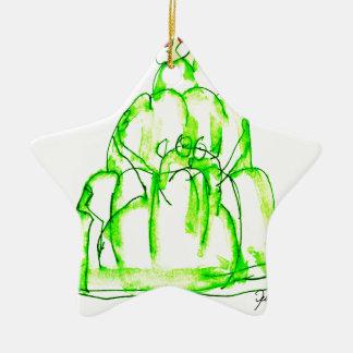 tony fernandes's kiwi jello ceramic ornament