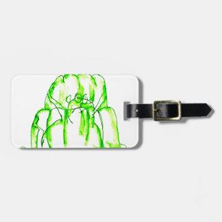 tony fernandes's kiwi jello luggage tag