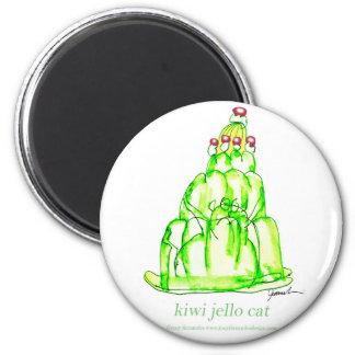 tony fernandes's kiwi jello magnet
