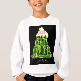 tony fernandes's lime jello rat sweatshirt