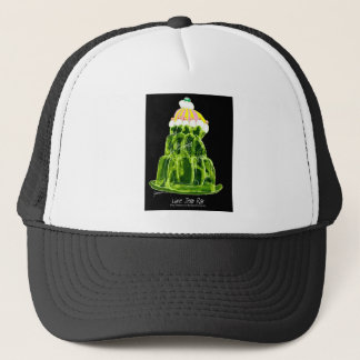 tony fernandes's lime jello rat trucker hat