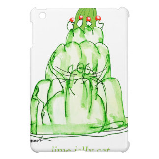 tony fernandes's lime jelly cat cover for the iPad mini