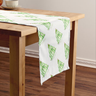 tony fernandes's lime jelly cat short table runner