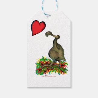 tony fernandes's love dodo gift tags