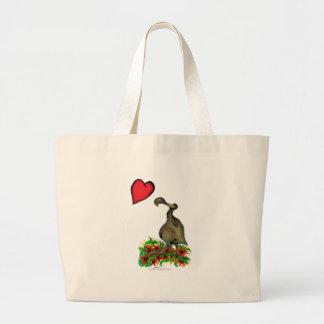 tony fernandes's love dodo large tote bag