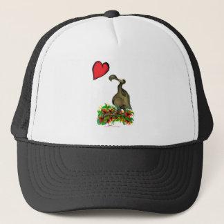 tony fernandes's love dodo trucker hat
