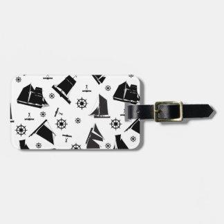 tony fernandes's nautical 2 luggage tag