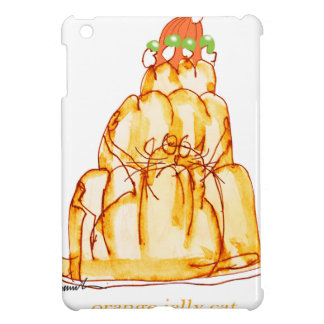 tony fernandes's orange jelly cat cover for the iPad mini