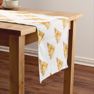 tony fernandes's orange jelly cat short table runner