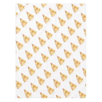 tony fernandes's orange jelly cat tablecloth