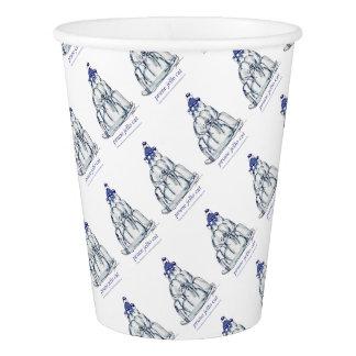 tony fernandes's prune jello cat paper cup
