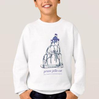 tony fernandes's prune jello cat sweatshirt
