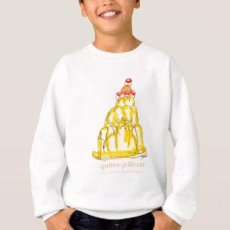 tony fernandes's quince jello cat sweatshirt