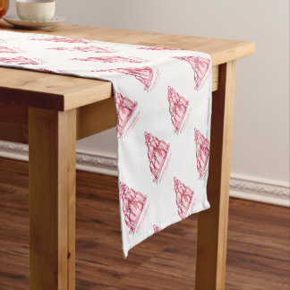 tony fernandes's strawberry jelly cat short table runner