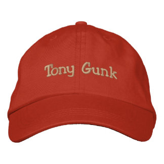 Tony Gunk Embroidered Hats