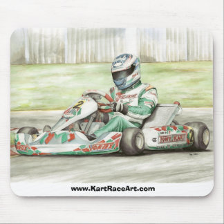 Tony-Kart Racing Mouse Pad