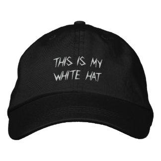 Tony's White Hat