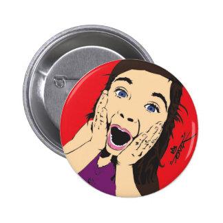 Tonza Screaming Girl Pin