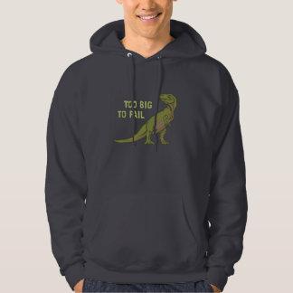 Too Big to Fail Dino Hoodie