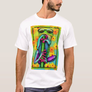 Too Cool Daisy Frog T-Shirt