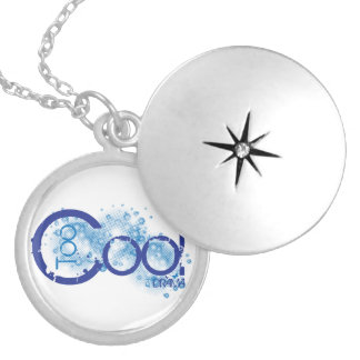 Too Cool For Drama pendent Round Locket Necklace