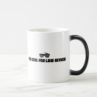 Too Cool For Law Review Coffee Mugs