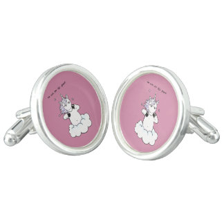 Too cute for this planet (Unicorn) Cuff Links