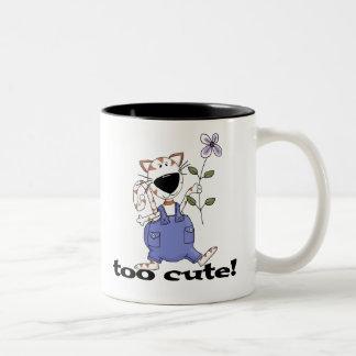 Too Cute Kitty Cat Coffee Mug