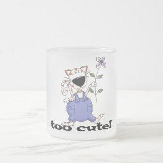 Too Cute Kitty Cat Tshirts and Gifts Coffee Mugs