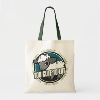 Too Cute to Eat Sheep Tote Bag