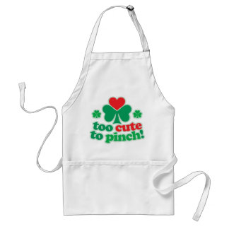 Too Cute To Pinch Standard Apron
