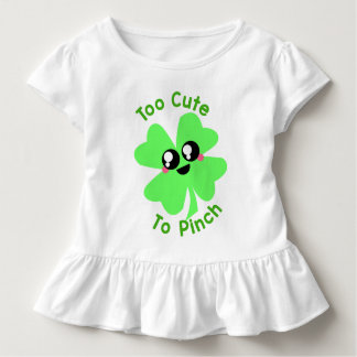 Too cute to pinch toddler shirt