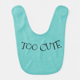 Too Cute Unisex Baby Bib