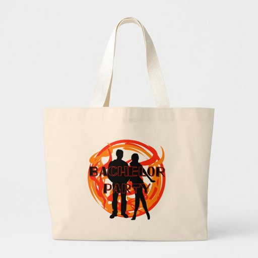 Too Hot Bachelor Party T-shirts and Gifts Tote Bag