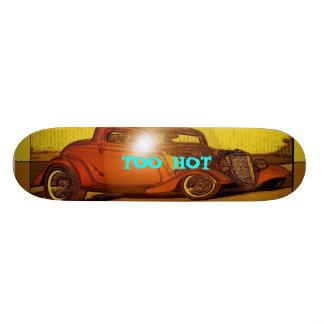 Hot rod skateboards hot rod skateboard designs for Deck gets too hot