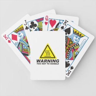 Too Hot to Handle Bicycle Playing Cards