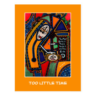 Too Little Time  - Time Pieces Postcard