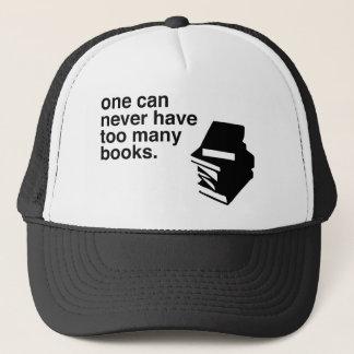 too many books cap