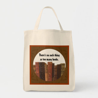 too many books tote