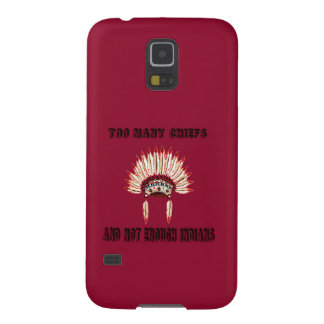 Too many chiefs case for galaxy s5
