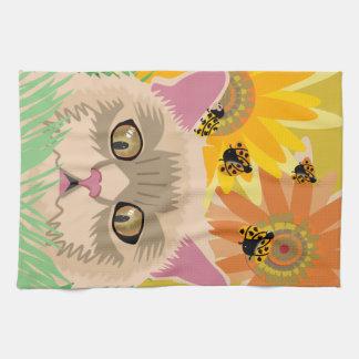 Too Many Ladybugs - Pastel Tea Towel